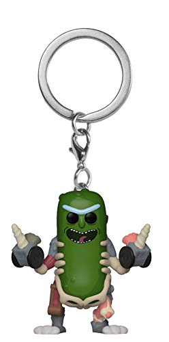 Funko 35930  Pop! Keychain: Rick & MortyRick in Rat Suit, Multicolor