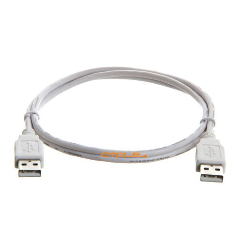 Cmple - USB 2.0 A Male to A Male Cable - 3FT