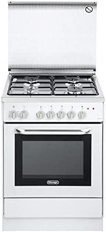 De Longhi DGW 65 ED – Cocina de gas 4 fuegos con horno de gas ...