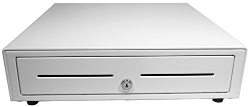 (APG VB554A-AW1616 Vasario Series Standard-Duty Cash Drawer with USB PRO Interface, Painted Front, 16.3