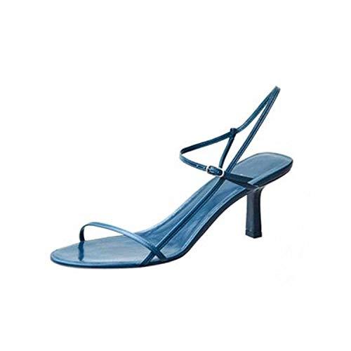Women's high Heel Stiletto Sandals Female Word with Wild Summer Women's ()
