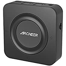 ARCHEER Bluetooth Transmitter and Receiver, Digital Optical TOSLINK and 3.5mm Audio Wireless Adapter for TV / Home Stereo System, Aptx Low Latency, Pair Two Bluetooth Devices