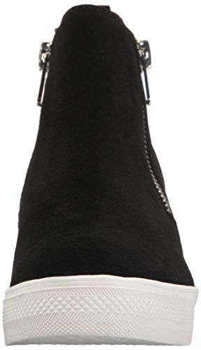 Sneaker Women's Black Wedgie Madden Steve Suede qFHtBnaaw