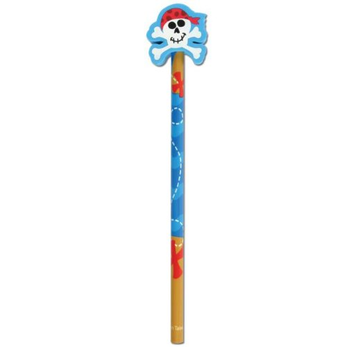 Doodle Dudes Pencil - Stephen Joseph Inc. - Pirate Doodle Dudes Pencil - Standard
