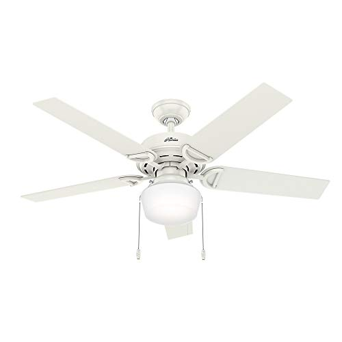 Hunter Fan Company 53417 Hunter 52'' Viola Fresh White LED Light Ceiling Fan by Hunter Fan Company (Image #3)