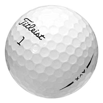 Titliest AVX 24 White AAA+ Recycled (Used) Golf Balls White 2 Dozen 3A