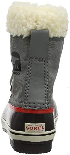 Enfant Bottes Yoot Childrens Taille Nylon 26 Pac Red sail Unisexes Gris rouge quarry Sorel 6Hwaxqw