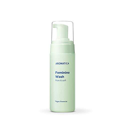 AROMATICA Pure and Soft Feminine Wash 5.75oz / 170ml, Vegan | Gentle Intimate Daily Wash for Women | pH-Balanced…