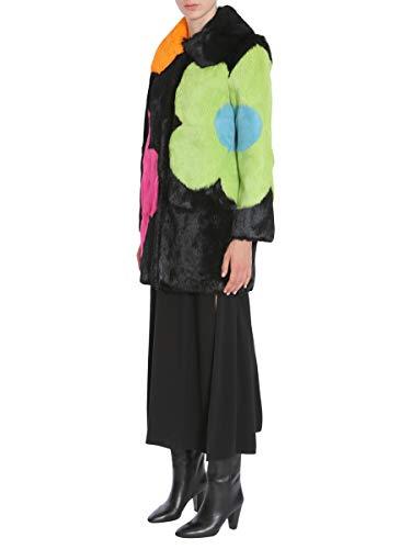 Manteau Cuir Boutique A400158911555 Moschino Femme Multicolore YXYxpF4q