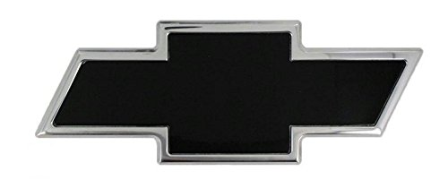 AMI - 96095KC - All Sales Chevy Bowtie Tailgate Emblem - Chrome/Black Powdercoat