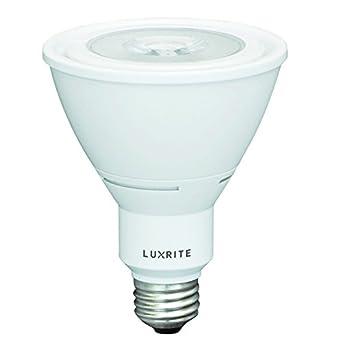luxrite lr23130 PAR30 (10 vatios, 75 W equivalente) intensidad regulable (2700 K) LED bombilla de luz ...