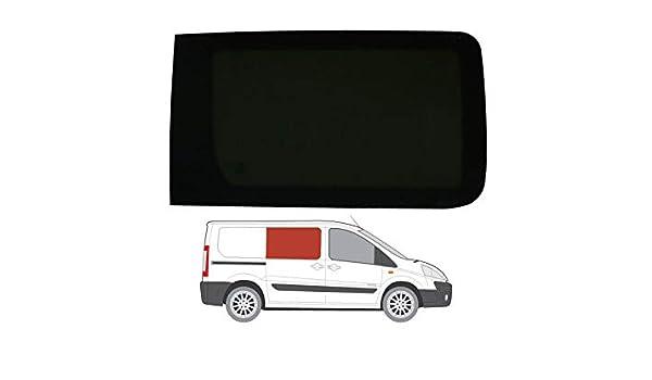 Mano derecha, tintado oscuro fijo ventana para puerta corredera Peugeot Expert (2007 – 2016): Amazon.es: Coche y moto