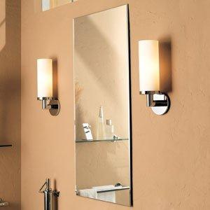 Ginger 36.80.51.050 Kubic Frameless Beveled Bathroom Mirror