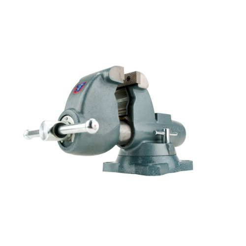 Wilton 10500 Aw45, All-Weather Outdoor Vises-Swivel Base, 4-1/2-Inch Jaw Width, 6-Inch Jaw Opening, 4-3/4-Inch Throat Depth by WILTON