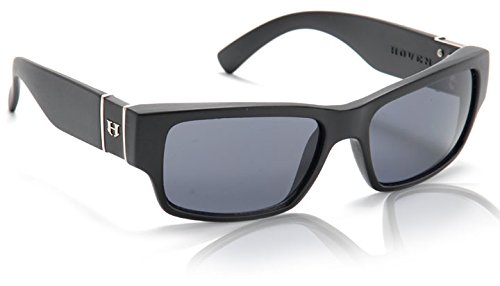 - Hoven Knucklehead Adult Polarized Sunglasses, Black Matte/Grey, One Size