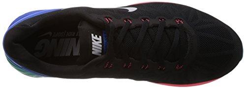 Nike Lunarglide 6 - Zapatillas para hombre Schwarz (Black/White-Hyper Cobalt-Hyper Punch)