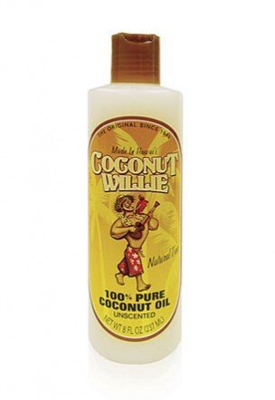 - Cococnut Willie 8 oz. Coconut Oil, Unscented 100% Pure