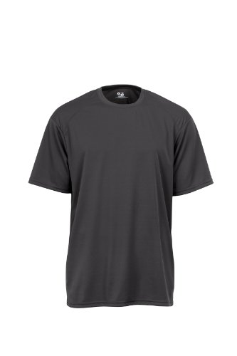 badger-sportswear-mens-b-dry-tee-graphite-large