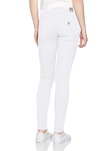 Guess Pantalone Skinny Low Bianco W32L32