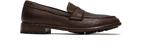 Cognac Mens Shoes On Black Slip Penny Lug Dress Loafers Leather Aiden FRYE Casual qAO7xnt1f
