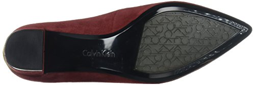 Calvin Klein Womens Genoveva Dress Pump Red