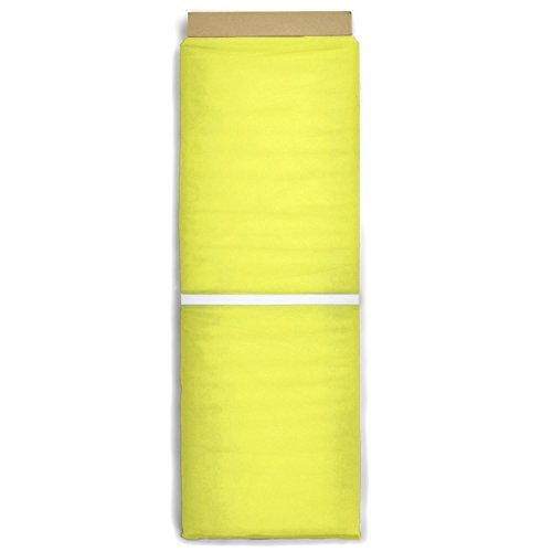 Yellow Tulle Fabric - By the Bolt