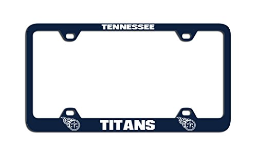 Tennessee Titans Laser License Plate - NFL Tennessee Titans Laser License Plate Frame, Blue