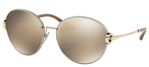Bulgari 0Bv6091B 278/5A 61 Gafas de sol, Dorado (Brown ...