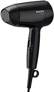 Secador de cabelos Essential 1200W, Preto, 220v-Philips