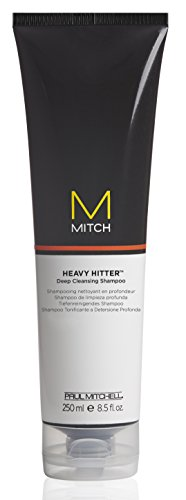 Paul Mitchell Mitch Heavy Hitter Deep Cleansing Shampoo, 8.5 Ounce