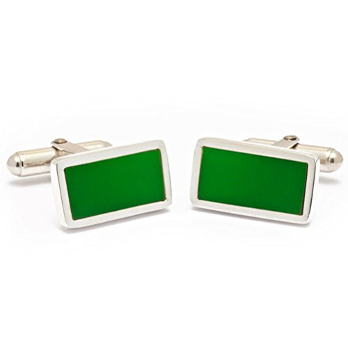Tokens & Icons Sterling Silver Boston Garden Floor Cufflinks
