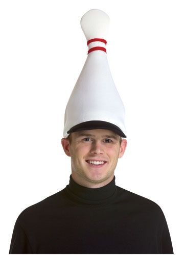 Rasta Imposta Bowling Pin Hat, White, One Size -