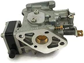 kesoto Carburetor Carb Assy 6L5-14301-01 6L5-14301-03 00 for Yamaha 3Hp 2 Stroke Outboard Motors