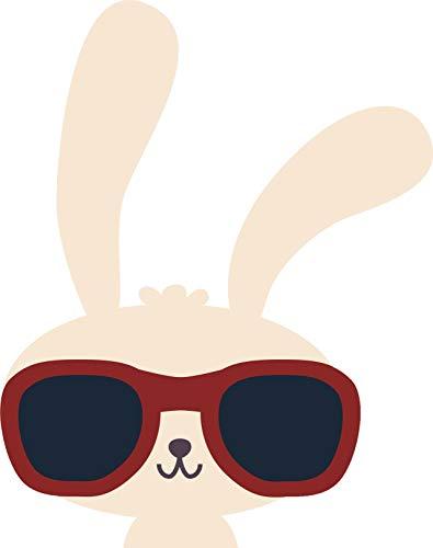 Magnet Cool Kawaii Bunny Rabbit with Sunglasses Cartoon (4