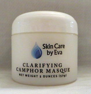Clarifying Acne Treatment Camphor Masque 2 Oz – with colloidal Sulfur an extremely effective mask to manage and clarify severe acne or blemished skin, Can be used as an overnight treatment to reduce blemishes and breakouts