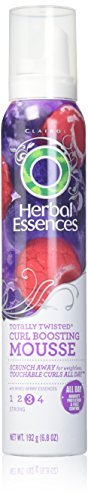 Herbal Essences Totally Twisted Curl Boosting Hair Mousse, 6.8 Ounce (Pack of 3) (Best Mousse For Scrunching Straight Hair)