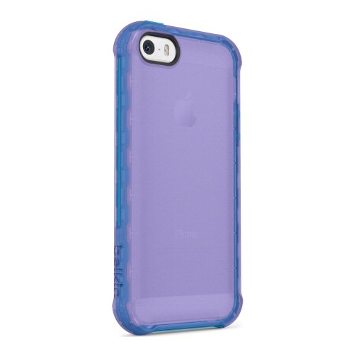 Belkin Components Outrigger Case for iPhone 5/5S - Retail Packaging - Purple