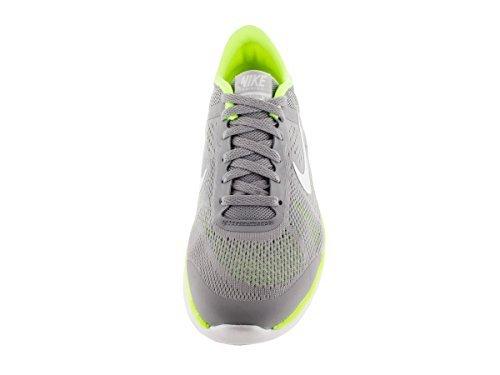 Image of Nike Women's In Season Trainer 4 Running Shoes Wolf Grey/White/Volt/Platinum (11.0M)