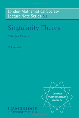 Singularity Theory (London Mathematical Society Lecture Note Series)