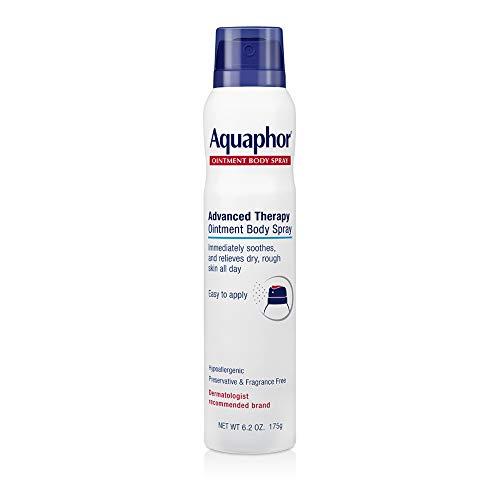 Aquaphor Ointment Body Spray - Moisturizes and Heals Dry, Rough Skin - 6.2 oz. Spray Can