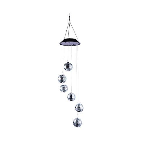 À Carillon Vosarea Ball Solaire Carillons Vent Led Mobile Globe 4jLq35AR