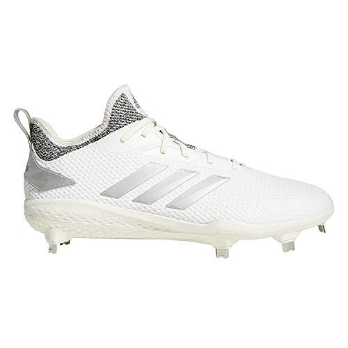free shipping 86247 1b88b adidas Men s Adizero Afterburner V Baseball Shoe Cloud White Grey, 10.5 M US