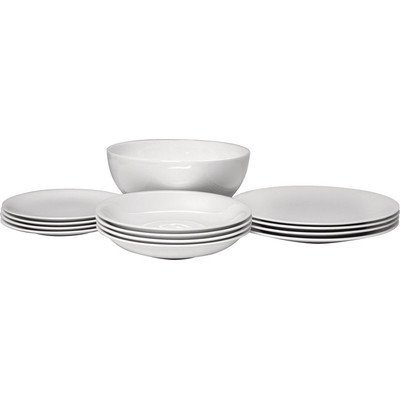 All-Time 12 Piece Dinnerware Set by Alessi