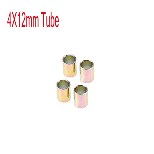 (Universal Aluminum Motorcycle Shock Absorber Rear Suspension 12 mm Bushing, 4pcs)