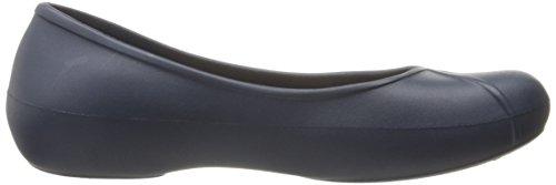 Crocs - Olivia II Women Lined Ballet Flat, EUR: 42.5, Navy