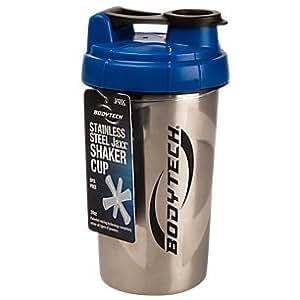Amazon.com: BodyTech Jaxx Stainless Steel Shaker (1 Bottle