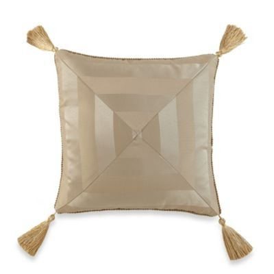 Waterford ANYA Decorative Pillow, 18x18, Gold by Waterford