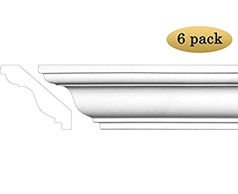 Crown Molding - Polyurethane Crown Moulding Manufactured with a Dense  Architectural Polyurethane Compound  Breadth 3