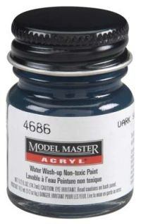 Testors Model Master Acrylic Gloss Dark Sea Blue FS15042 (Model Master Gloss)