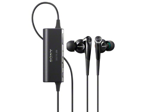 Sony Noise Canceling Stereo In-Ear Headphones | MDR-NC100D B Black
